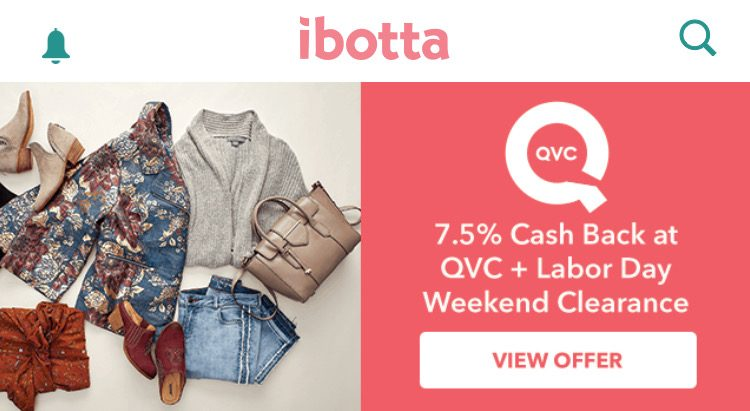 QVC-ibotta-7.5%-labor-day-2018